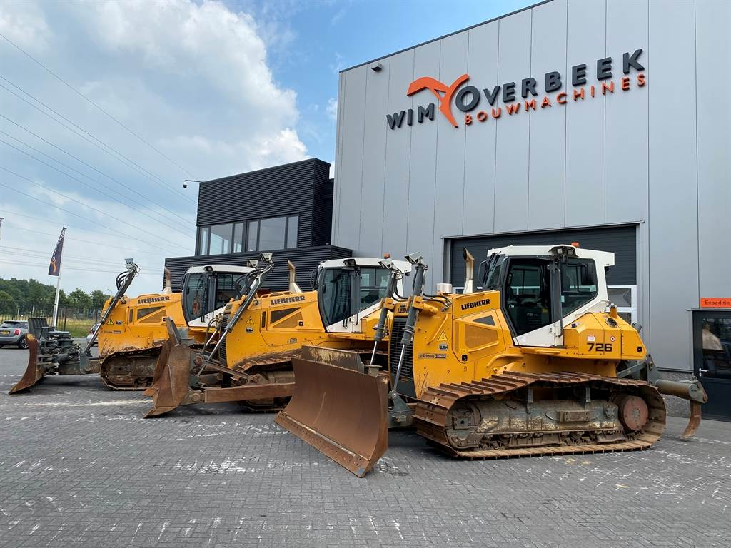 Liebherr 3x PR 726/736 LGP/XL