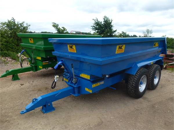 NC DUMP TRAILERS 314_tipper trailers Year of Mnftr: 2016  Pre Owned