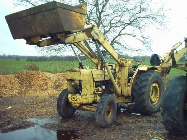 Used Ford 4500 4550 550 Backhoe Loaders Year 1976 For