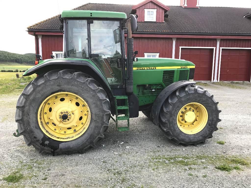 john deere 7810 preis baujahr 1998 gebrauchte traktoren gebraucht kaufen und. Black Bedroom Furniture Sets. Home Design Ideas