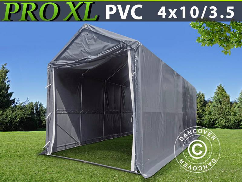 Shelter Storage Cover All : Used dancover storage shelter m pvc telthal