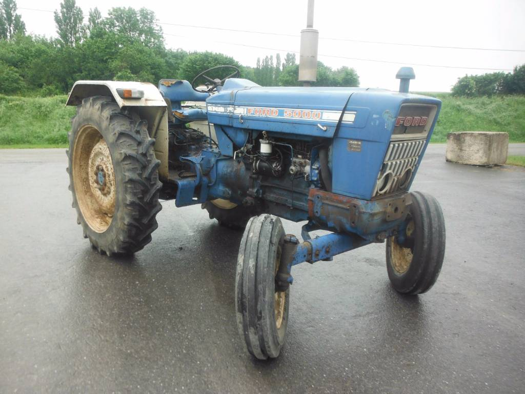 Ford 5000 Tractor Engine : Ford year tractors id c fde mascus usa