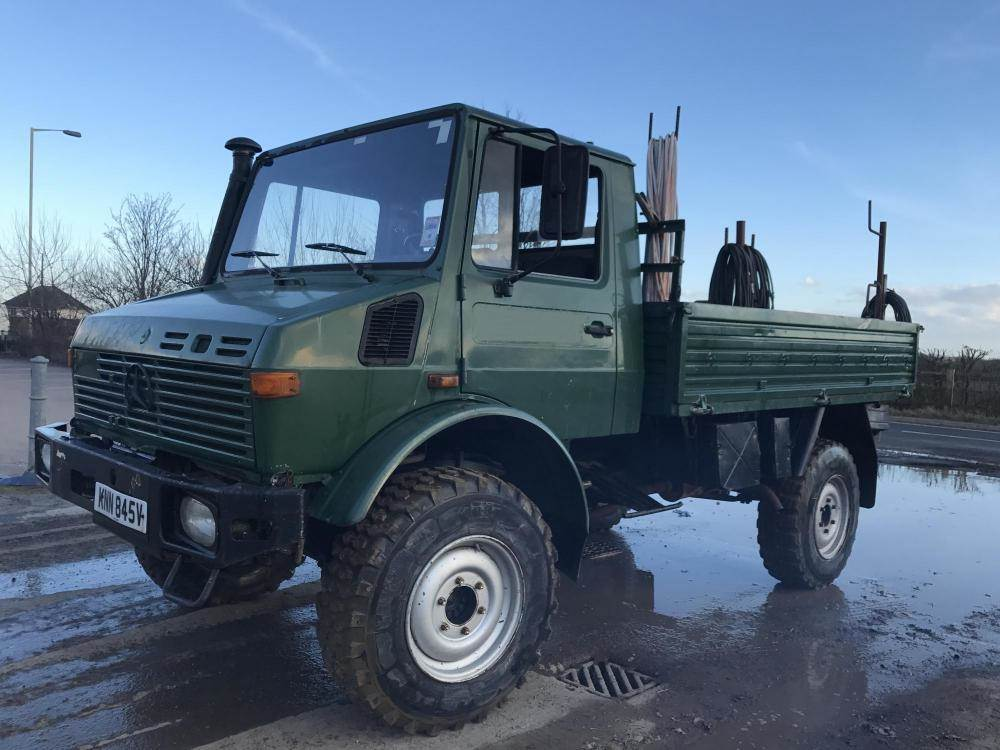 used mercedes benz unimog other trucks year 1980 for sale
