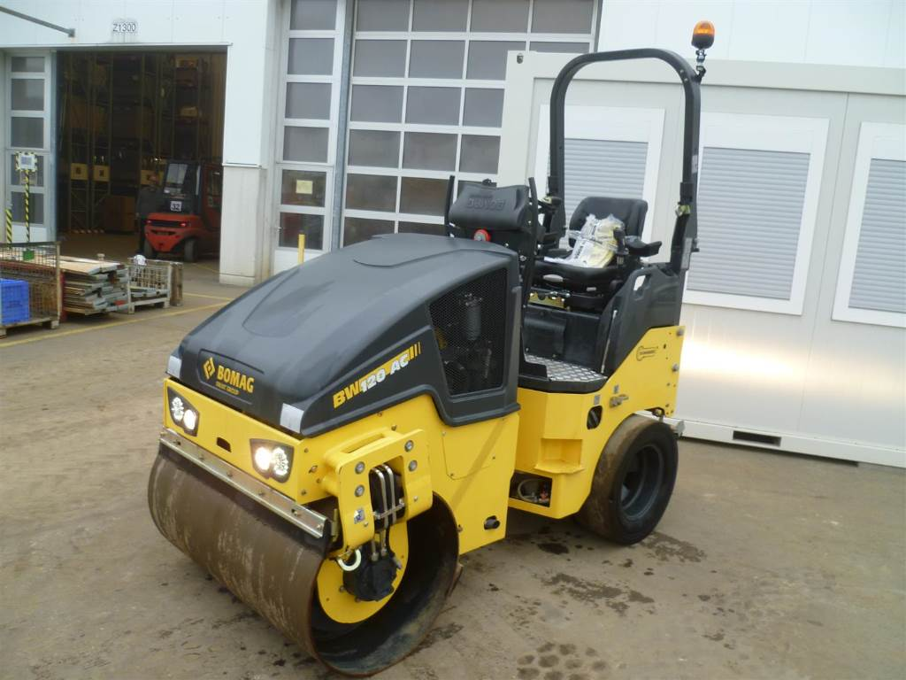 Used Bomag BW 120 AC-5 combi rollers Year: 2014 Price ...