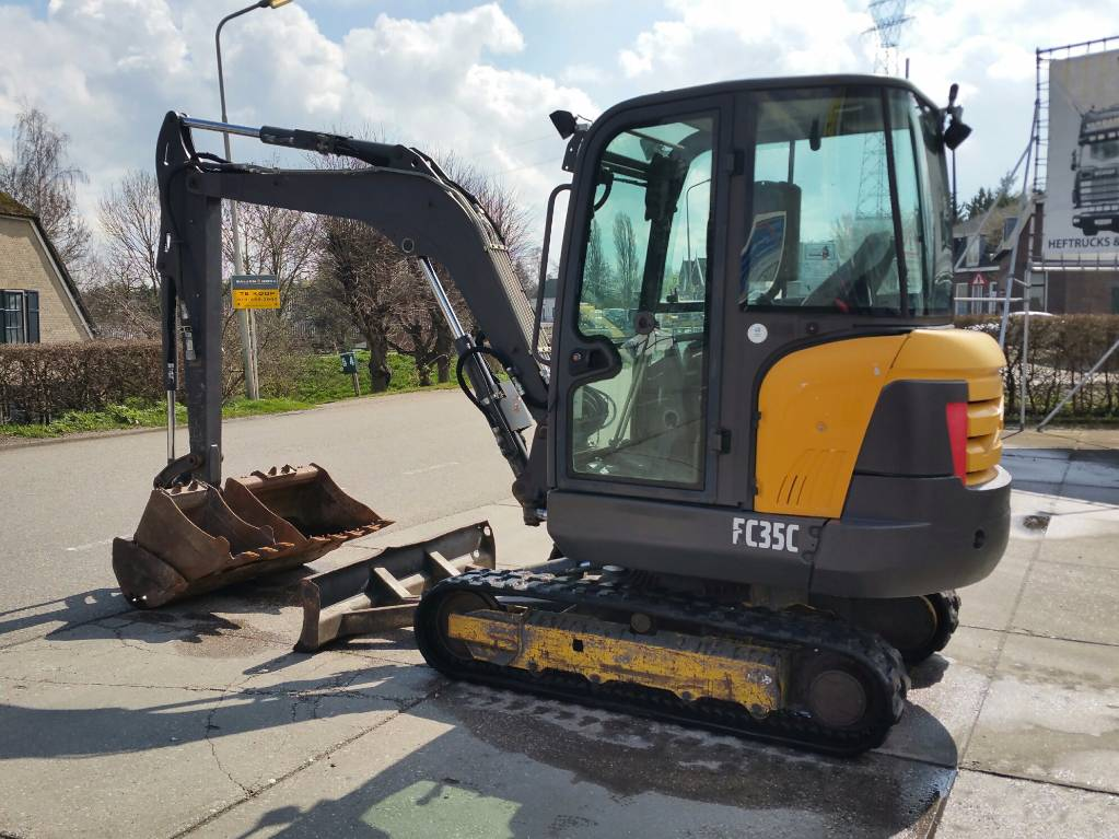 Used Volvo EC 35 C mini excavators