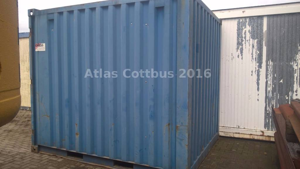 containex materialcontainer container 10 fu cottbus preis baujahr 2009. Black Bedroom Furniture Sets. Home Design Ideas