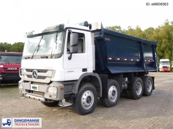 Used mercedes benz actros 4844k 8x4 tipper 22 m3 dump for Used mercedes benz tipper trucks for sale in germany