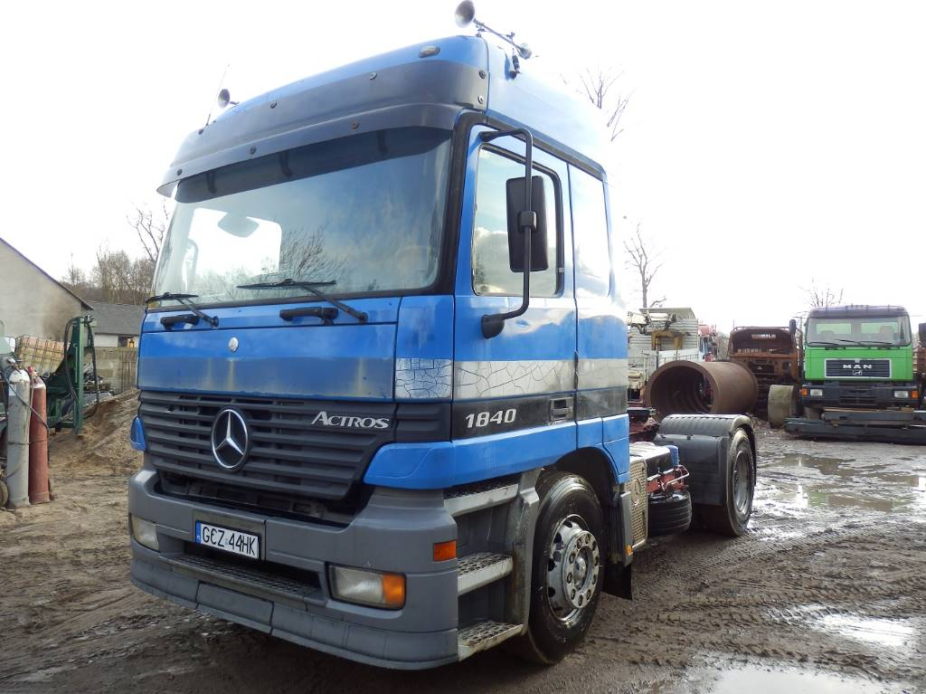Used mercedes benz actros 1840 tractor units year 1999 for Used mercedes benz trucks for sale in germany
