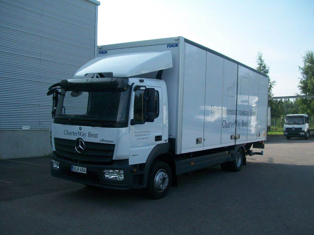 Mercedes benz atego 918 reefer trucks for rent year of for Mercedes benz truck leasing