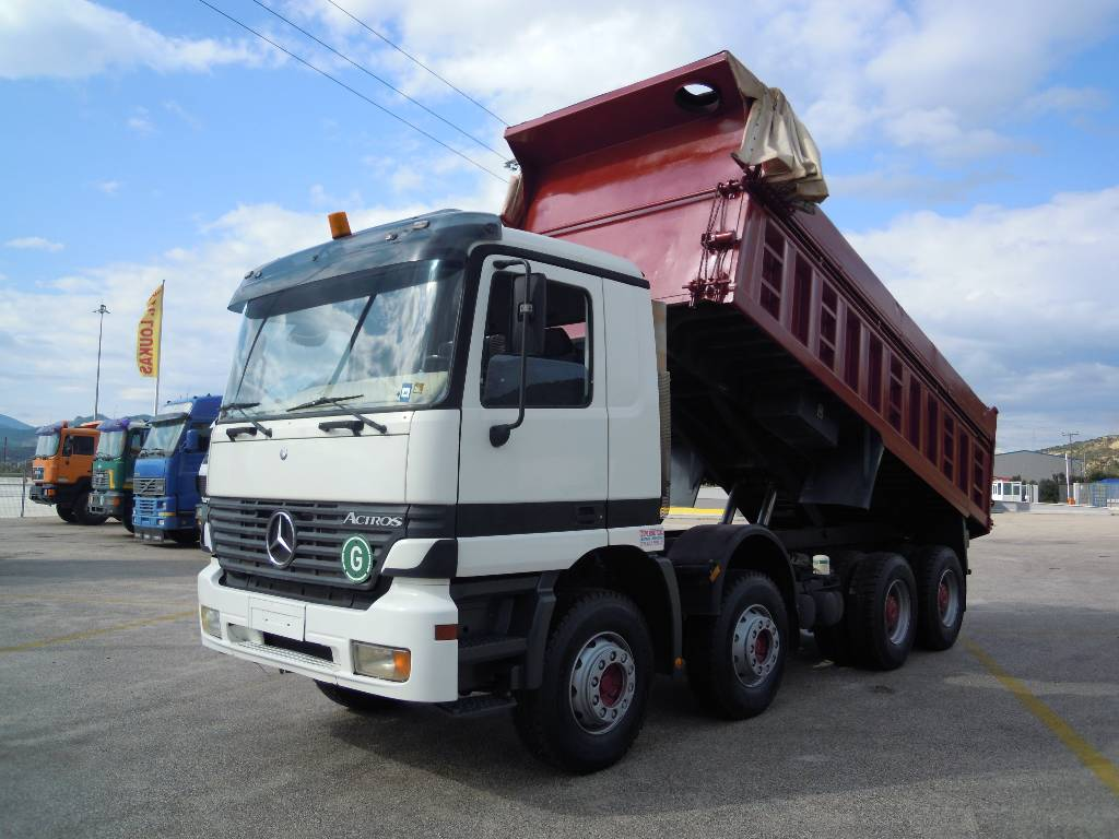 used mercedes benz 4140 k dump trucks year 2000 for sale