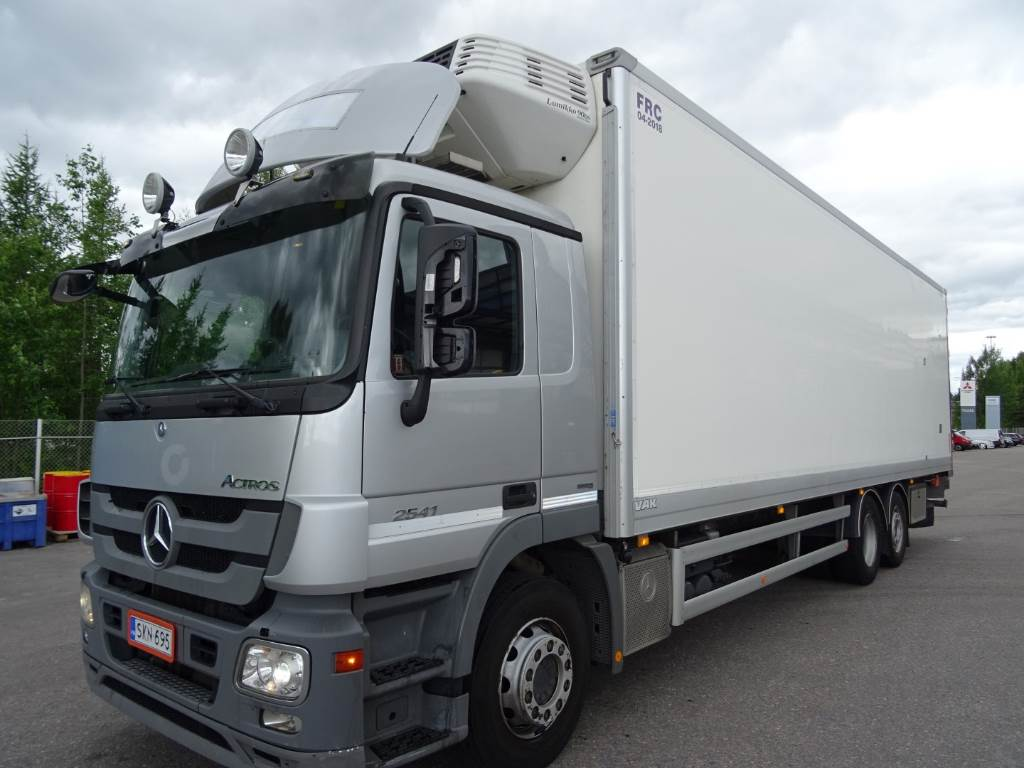 Used mercedes benz actros 2541 reefer trucks year 2012 for Mercedes benz actros for sale