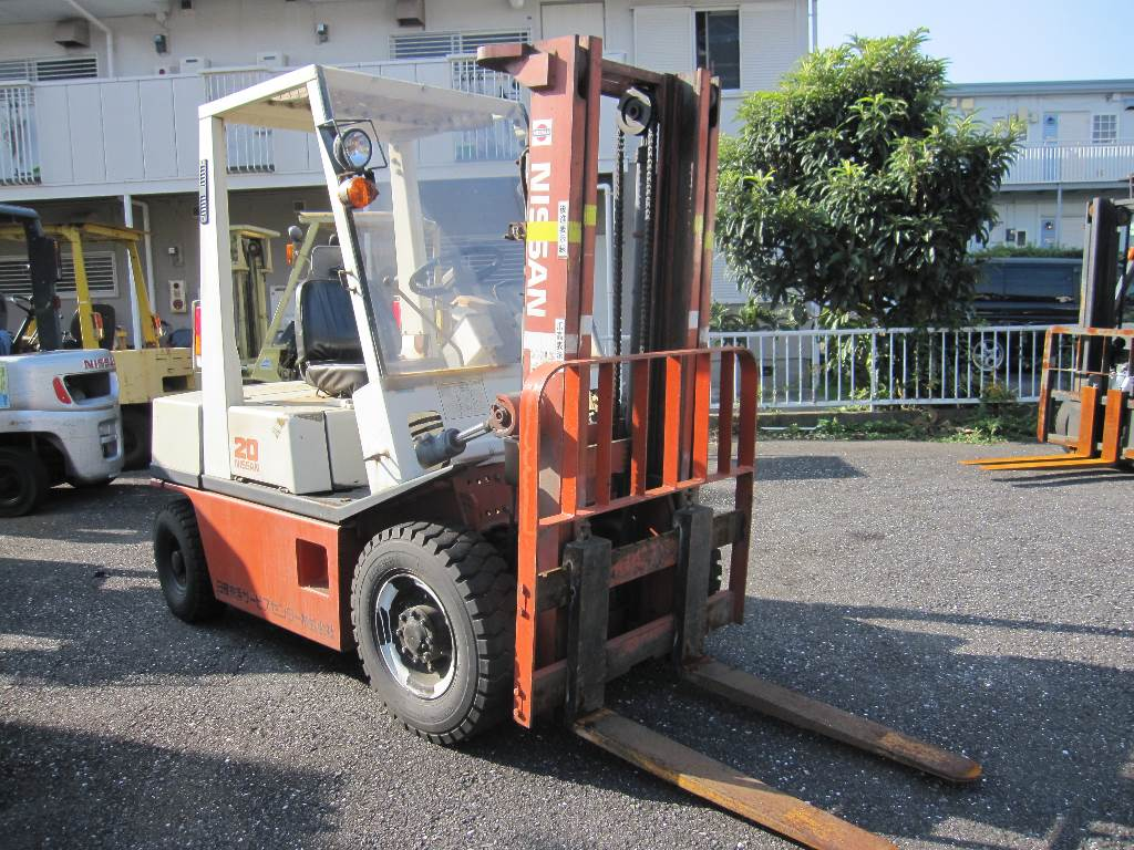 Used Nissan Ph02a20 Forklift Trucks Others Year 1988