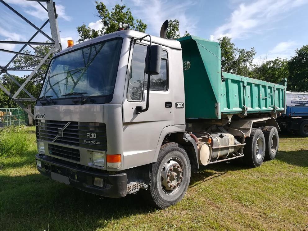 Used A LOUER BI-BENNE CHARGE UTILE 15T VOLVO FL10 dump Trucks Year: 1996 for sale - Mascus USA