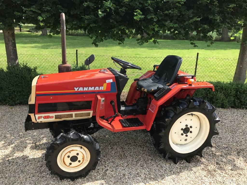 Yanmar F16 Minitractor - Tractors - ID: 47046394 - Mascus ...