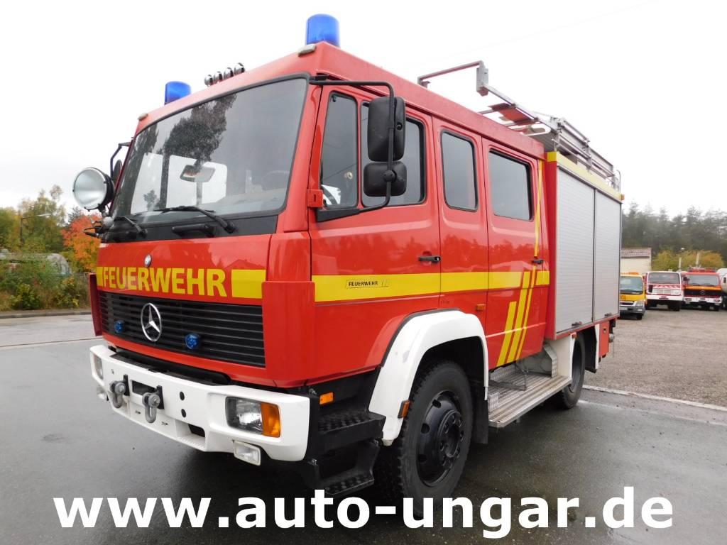 Used mercedes benz 917af lf8 6 feuerwehr 4x4 600liter fire for Mercedes benz 4x4 truck