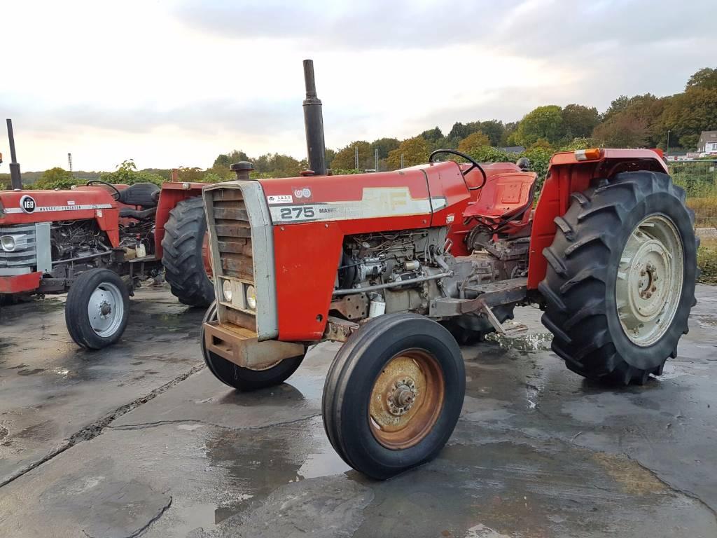 Mf 275 Tractor Data : Massey ferguson year tractors id f