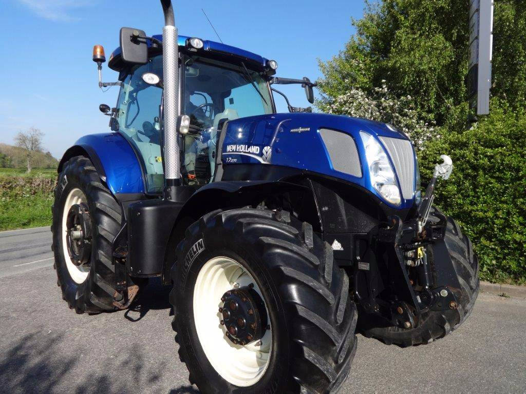 New Holland Tractors Used : New holland t year of manufacture tractors