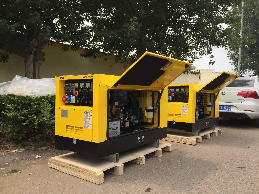Used Kovo Diesel Welding Generator Ew320ds Diesel
