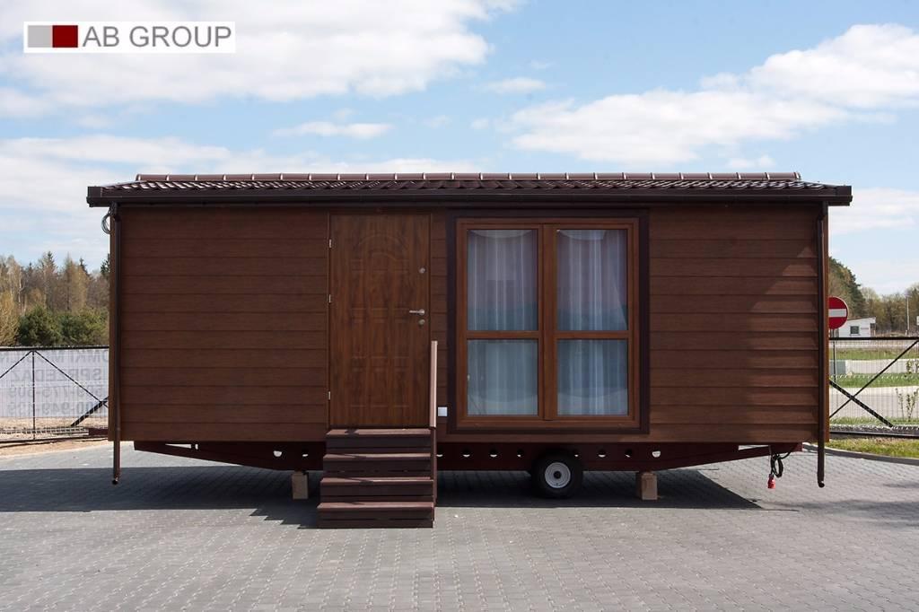 mobile home domek mobilny 7x3 5 kerrafront z oty preis baujahr 2017 bauwagen. Black Bedroom Furniture Sets. Home Design Ideas