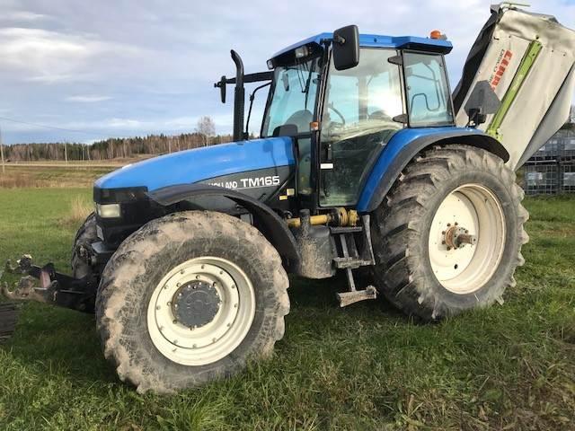 new holland tm 165 gebrauchte traktoren gebraucht kaufen. Black Bedroom Furniture Sets. Home Design Ideas