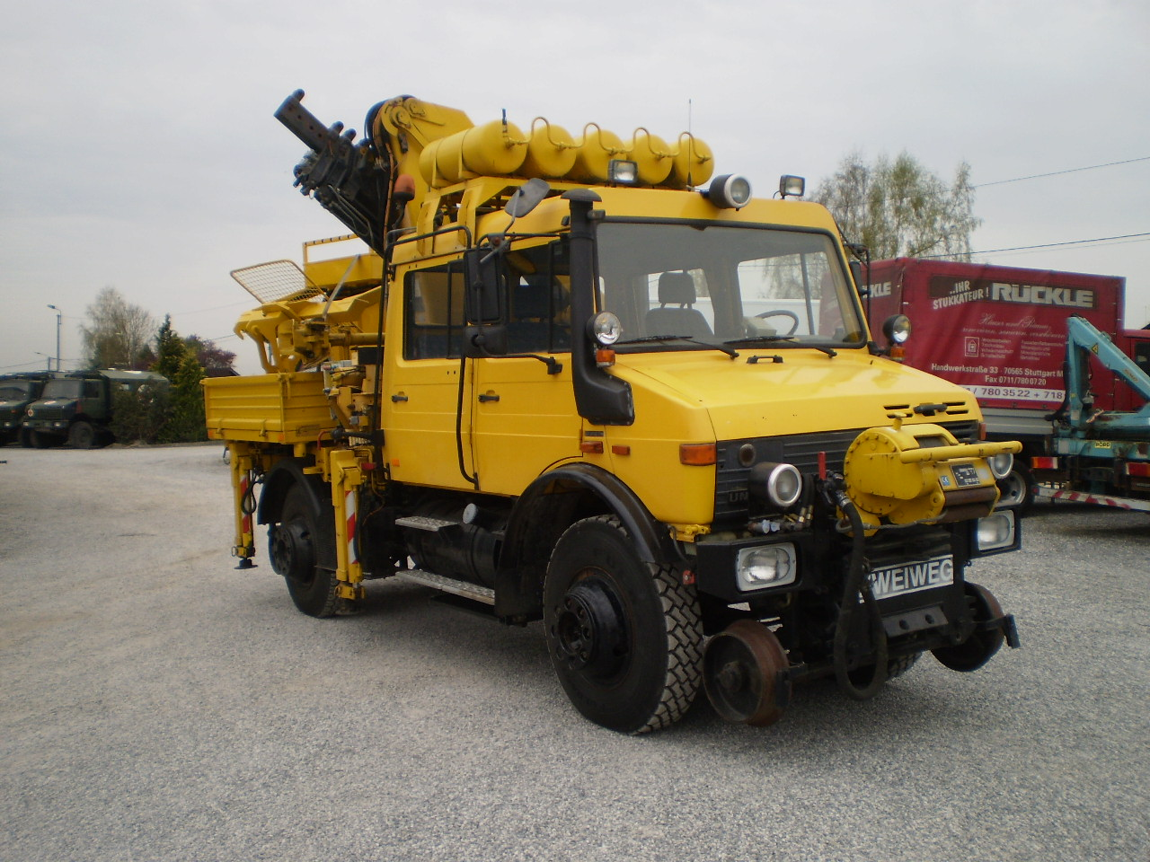 Mercedes-Benz Unimog 1650 ZW rail route / rail road - Year: 1996 - Other trucks - ID: 4B739977 ...