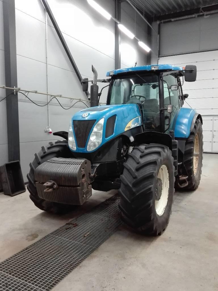 new holland t 7060 preis baujahr 2008 gebrauchte traktoren gebraucht kaufen und. Black Bedroom Furniture Sets. Home Design Ideas
