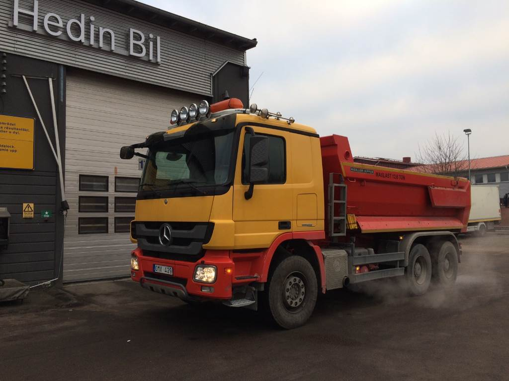 Used mercedes benz actros 2646 lk dump trucks year 2012 for Mercedes benz trucks usa