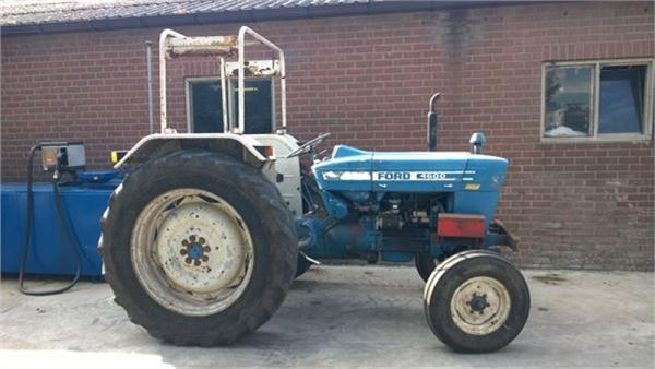 1975 Ford 4000 Tractor : Ford year of manufacture tractors id