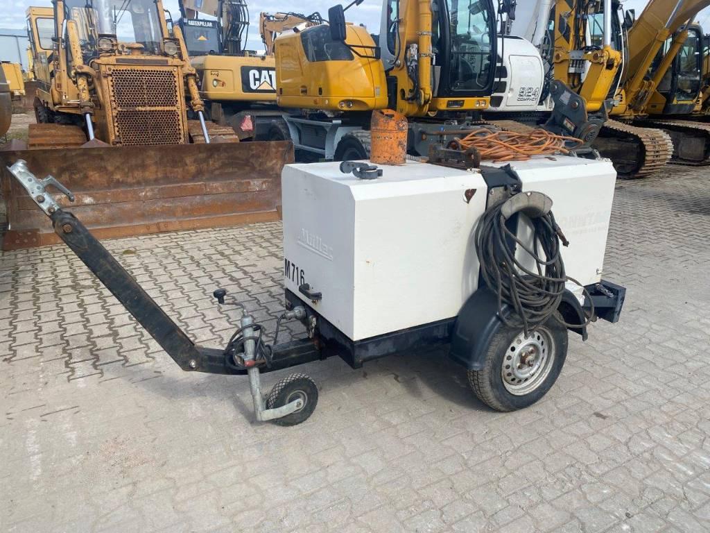 Müller GDF 200 Welding generator