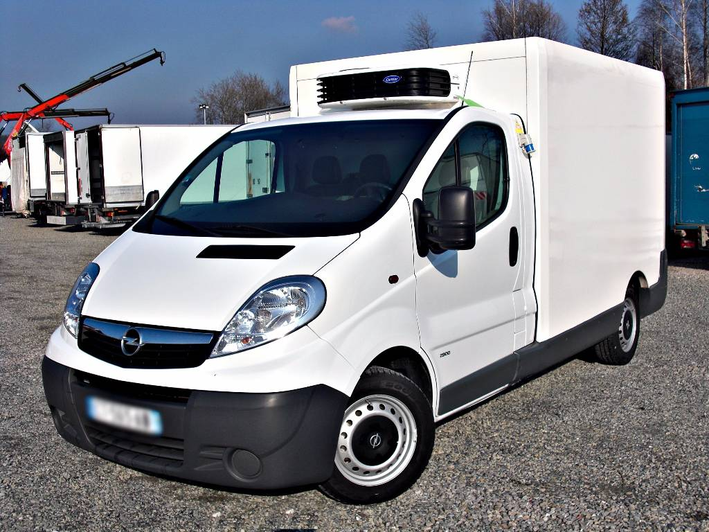 used opel vivaro 115 dci ch odnia freezer frc carrier. Black Bedroom Furniture Sets. Home Design Ideas