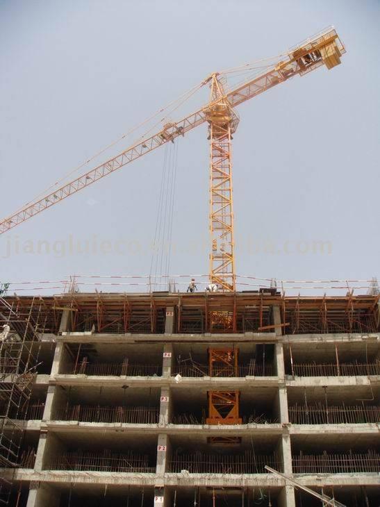 Tower Crane Climbing : Potain internal climbing crane tower cranes year of