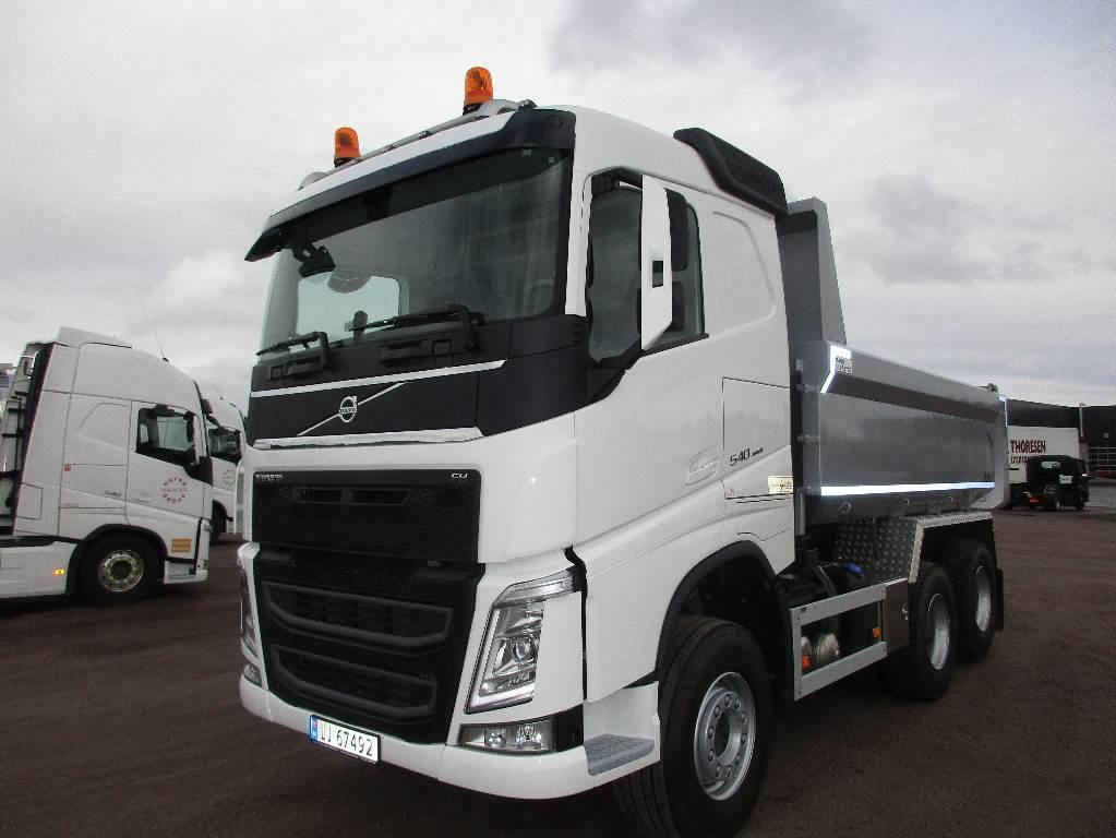 Used Volvo FH540 6x4 - VDS, krypgir og løfteaksel dump Trucks Year: 2017 for sale - Mascus USA