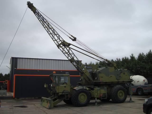 used p u0026h m320rt ex us army rough terrain cranes year  1977