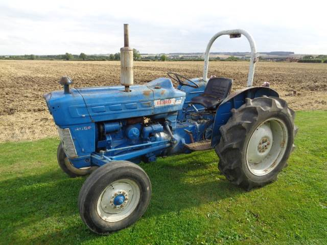 2000 Ford Tractor Information : Ford mnftr year tractors id a ac