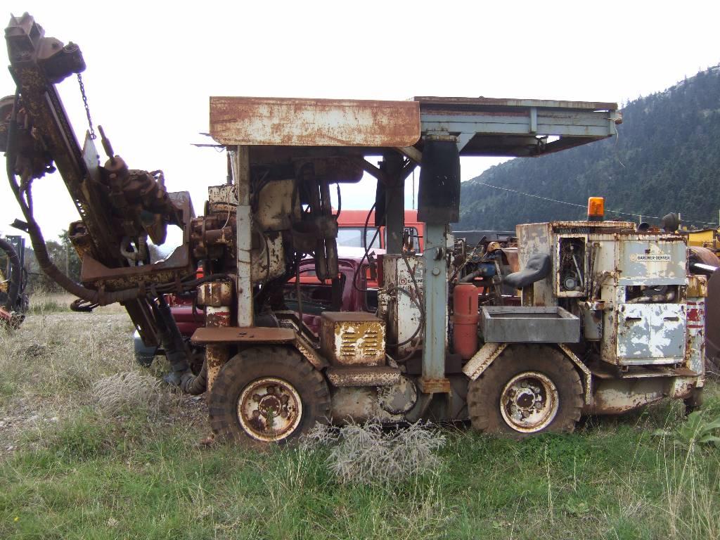 Mini Mining Equipment : Used gardner denver mini bore other underground mining