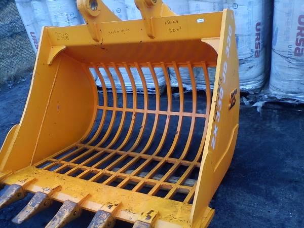 Used Hitachi Screening Bucket 30 Ton Komatsu Volvo Cat