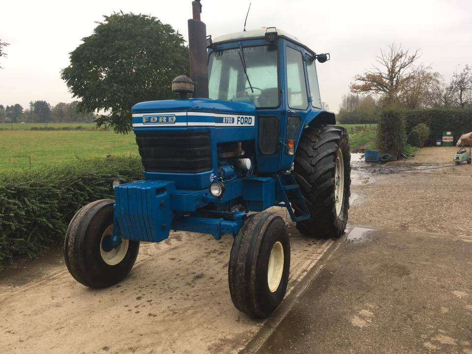 Ford 8700 Tractor : Ford mnftr year tractors id ba eebf