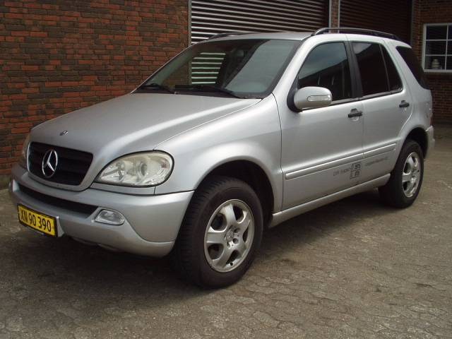 Used mercedes benz ml 270 cdi aut panel vans year 2002 for Mercedes benz ml price