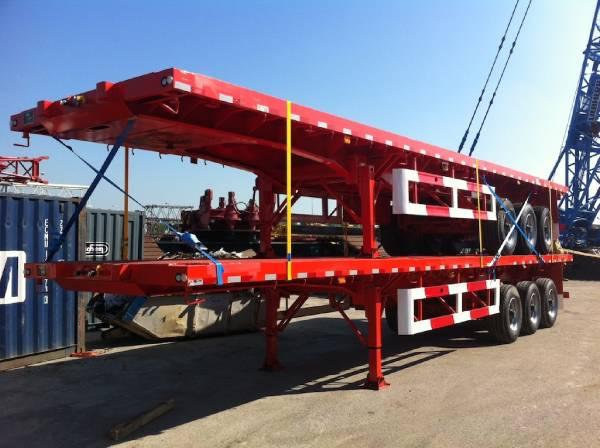 Lodico 3 axle container trailer