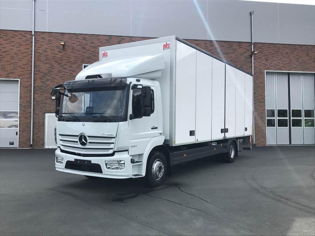 Mercedes benz atego 1524l year 2017 box trucks id for Mercedes benz box truck