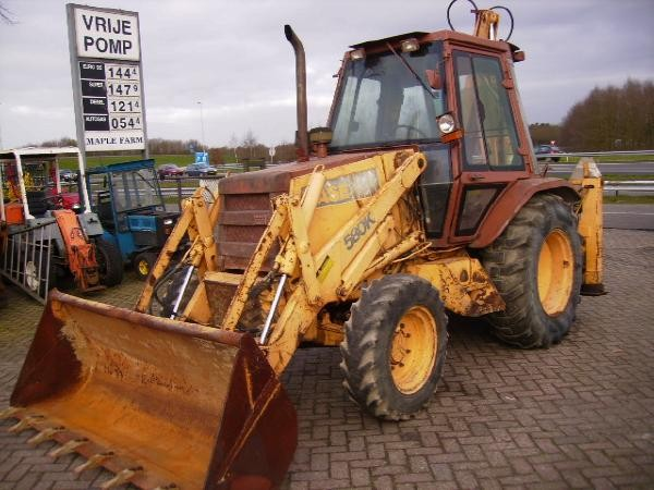 Case 580 K Turbo Backhoe Loaders Year Of Manufacture