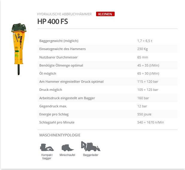 Indeco HP 400 FS