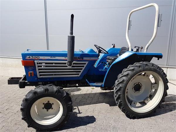 Iseki Tractor Tires : Used iseki te f tractors year for sale mascus usa