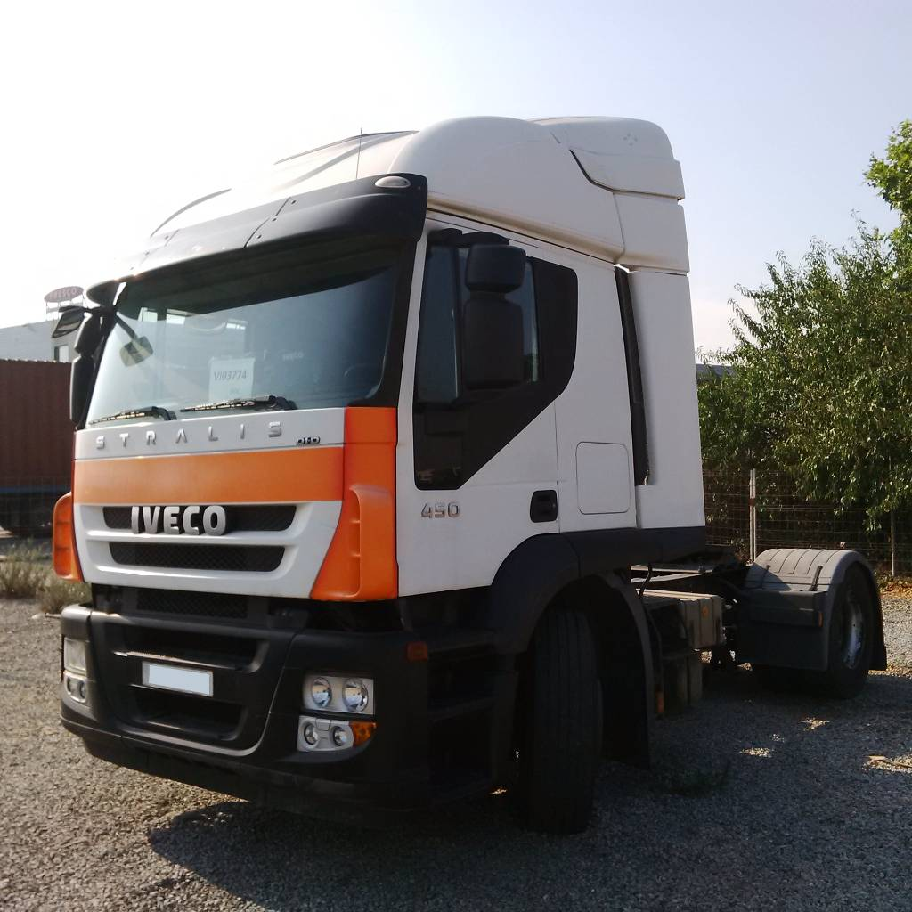 used iveco stralis at 450 tractor units year 2008 price 14 706 for sale mascus usa. Black Bedroom Furniture Sets. Home Design Ideas