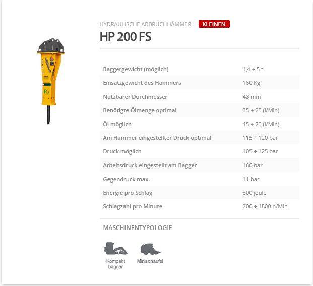 Indeco HP 200 FS