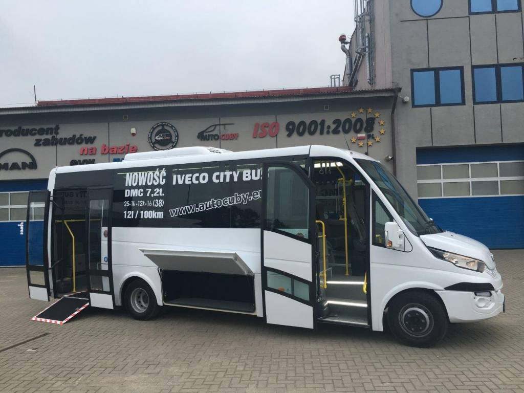 used iveco cuby iveco 70c hi matic city euro 6 available city bus year 2016 price 119 790. Black Bedroom Furniture Sets. Home Design Ideas