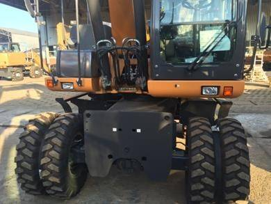 CASE WX168 til salg Pris: 783.624 kr., Årgang: 2015 - Brugte CASE WX168 Gravemaskiner på hjul ...