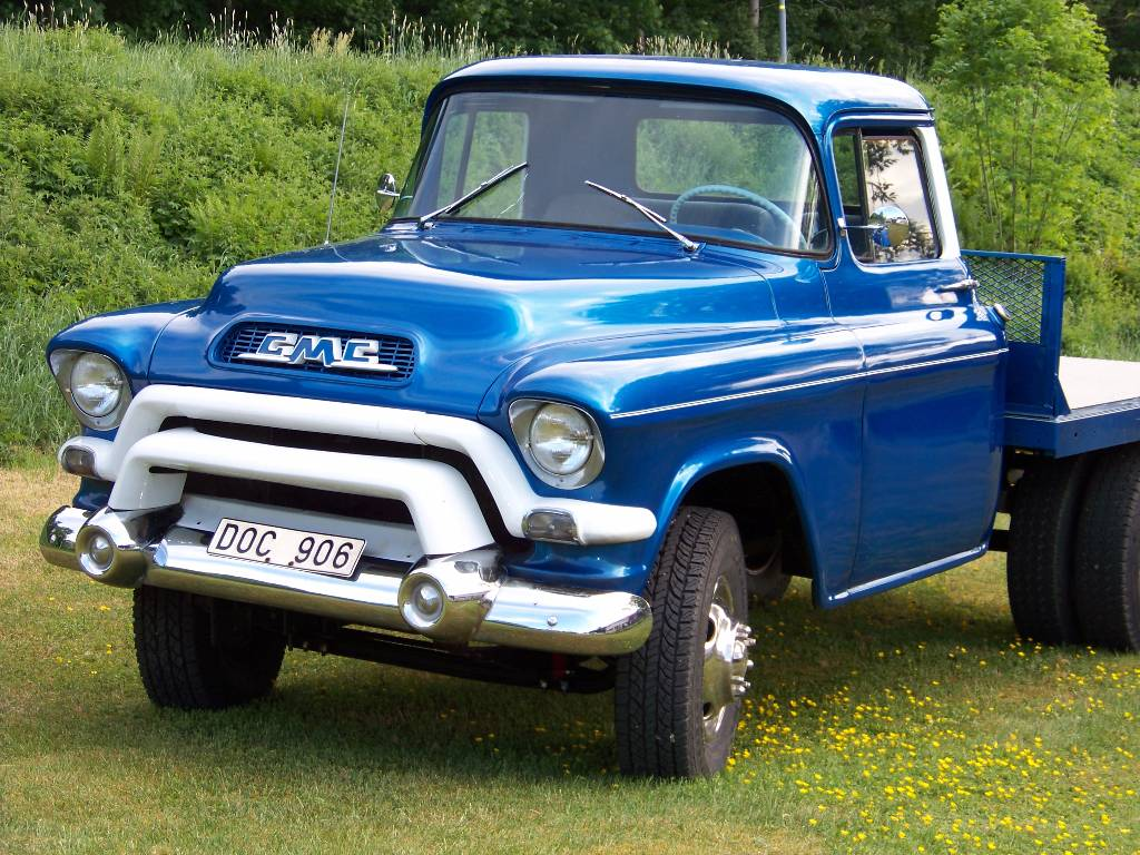 Used GMC 150 flatbed / Dropside Year: 1956 Price: $15,803 ...