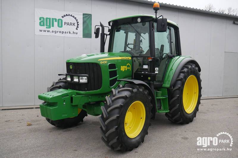 John deere 6430 with 2341 hours tractor with air con for Chambre a air tracteur occasion