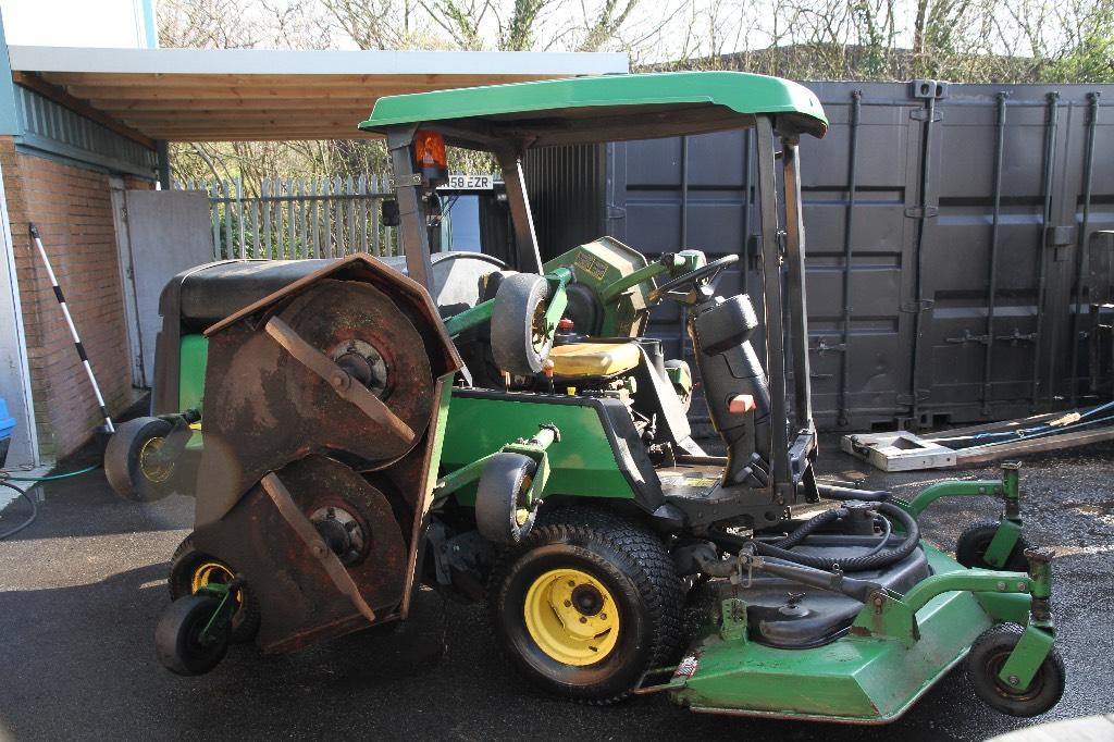John Deere Lawn Mower Turbo : Used john deere wam turbo lawn mowers price